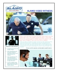 Alamo Video Witness Brochure - icon